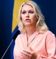 Lena Hallengren (S). Erik Simander/TT / TT NYHETSBYRÅN