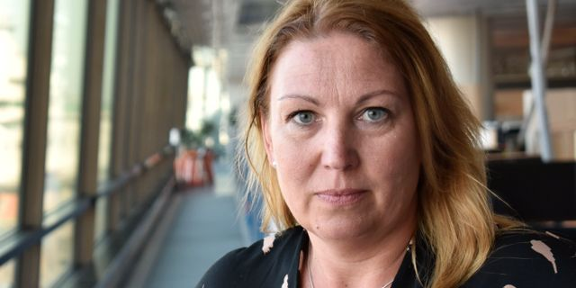 Johanna Jaara Åstrand, ordförande i Lärarförbundet. Niklas Svahn/TT / TT NYHETSBYRÅN