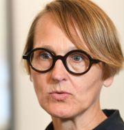 Annika Sundén, analyschef på Arbetsförmedlingen. Fredrik Sandberg/TT / TT NYHETSBYRÅN
