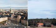 Gamla stan i Stockholm/en gård i Västmanland. TT