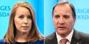 Annie Lööf (C) och Stefan Löfven (S) borde hitta en överenskommelse på arbetsmarknadsområdet skriver Sydsvenskans ledarsida. TT.