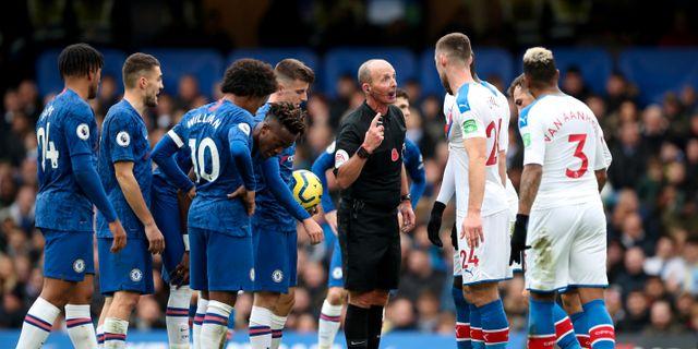 Chelsea mot Crystal Palace i Premier League.  HANNAH MCKAY / TT NYHETSBYRÅN