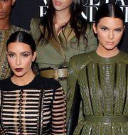 Kim Kardashian (t v) Kendall Jenner (t h) TT