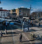 Järntorget i Göteborg. Magnus Hjalmarson Neideman/SvD/TT / TT NYHETSBYRÅN