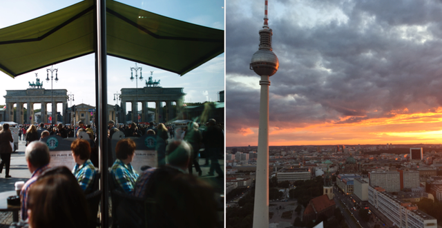 Arkivbilder från Berlin. TT