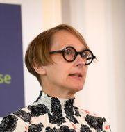 Arbetsförmedlingens analyschef Annika Sundén. Fredrik Sandberg/TT / TT NYHETSBYRÅN