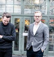 Arkivbild: Norrskens grundare, Klarna-grundaren Niklas Adalberth, samt stiftelsens vd Erik Engellau-Nilsson.  Magnus Hjalmarson Neideman/SvD/TT / TT NYHETSBYRÅN