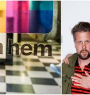 Com Hem och Kanal 5-profilerna Filip Hammar och fredrik Wikingsson. Arkivbilder TT