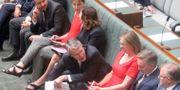 Ledamöter i australiska parlamentet. Rod McGuirk / TT / NTB Scanpix