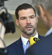 Johan Forssell.  Claudio Bresciani/TT / TT NYHETSBYRÅN