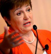 IMF-chefen Kristalina Georgieva. Arkivbild. JIM WATSON / TT NYHETSBYRÅN