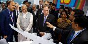Arkivbild: Stefan Löfven åkte till Indien 2016 och träffade Narendra Modi. Rajanish Kakade / TT / NTB Scanpix