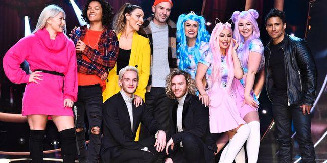 De tävlar i kvällens deltävling i Melodifestivalen. Foto: Claudio Bresciani / TT / TT NYHETSBYRÅN