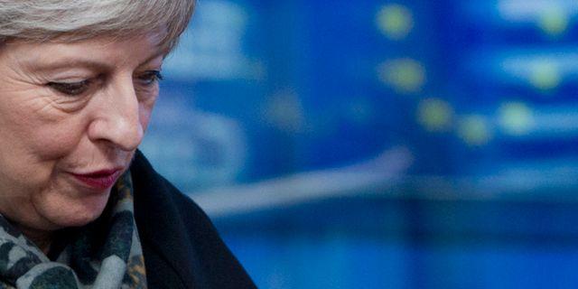 Theresa May. Virginia Mayo / TT NYHETSBYRÅN