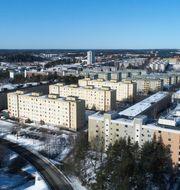 Arkivbild på Tensta.  Fredrik Sandberg/TT / TT NYHETSBYRÅN