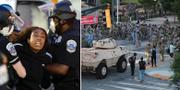 Demonstrant förs bort i Washington/Nationalgardet i Atlanta. TT