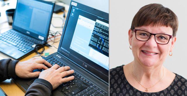 Arkivbild / Anne-Marie Eklund Löwinder på IIS TT / Sara Arnald