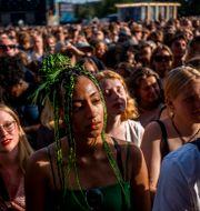 Publik på Way Out West 2019. ADAM IHSE / TT / TT NYHETSBYRÅN