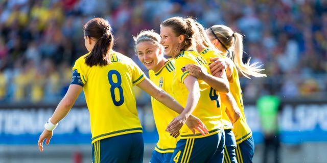 Sverige toppseedat i fotbolls vm