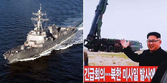 Nordkorea skot upp kritiserad raket