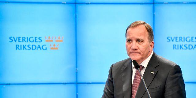Stefan Löfven.  Anders Wiklund/TT / TT NYHETSBYRÅN