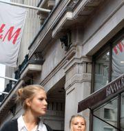 Arkivbild: H&M på regent Street i centrala London. Sang Tan / TT NYHETSBYRÅN
