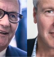 Investors styrelseordförande Jacob Wallenberg, EQT:s vd Thomas von Koch. TT, EQT