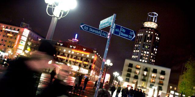 Arkivbild, Medborgarplatsen i Stockholm. Claudio Bresciani / TT / TT NYHETSBYRÅN