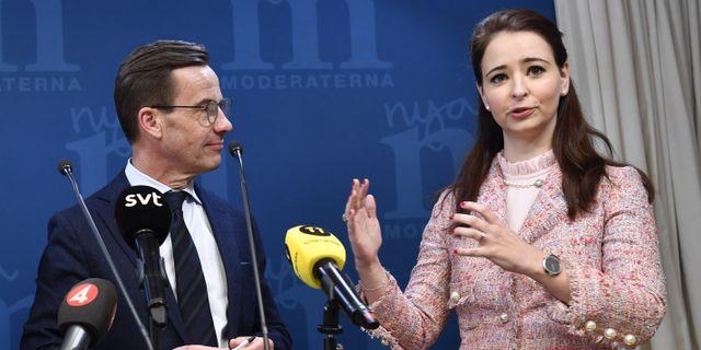 Alice Teodorescu Måwe. Henrik Montgomery/TT / TT NYHETSBYRÅN