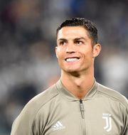 Cristiano Ronaldo. Massimo Pinca / TT NYHETSBYRÅN
