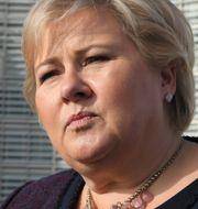 Erna Solberg Falnes, Johan / TT NYHETSBYRÅN