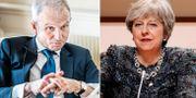 David Lidington/Theresa May. TT