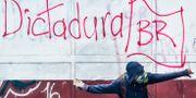 Bild från Caracas tidigare i veckan. JUAN BARRETO / AFP