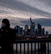 Bild från Frankfurt.  Michael Probst / TT NYHETSBYRÅN