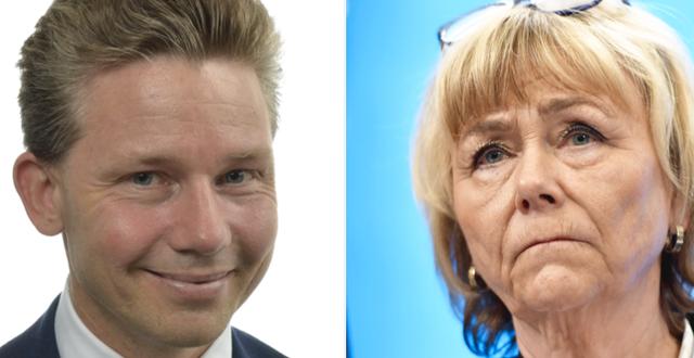 Pål Jonson / Beatrice Ask Riksdagen / TT