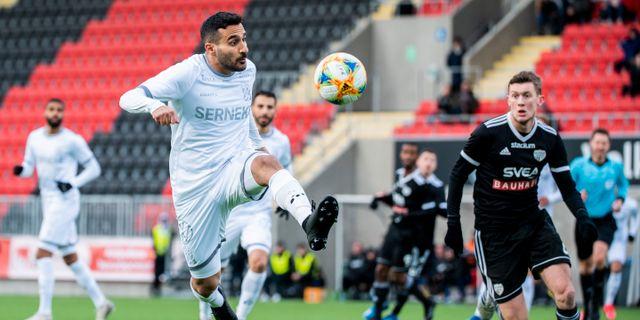 IFK Göteborgs Sargon Abraham. JONATHAN NÄCKSTRAND / BILDBYRÅN