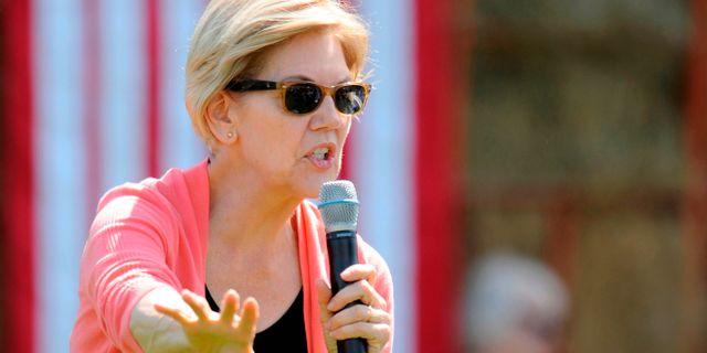Elizabeth Warren. JOSEPH PREZIOSO / AFP