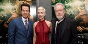 Mark Wahlberg, Michelle Williams och Ridley Scott. KEVIN WINTER / GETTY IMAGES NORTH AMERICA