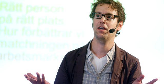 Andreas Bergh, som forskar om välfärdsstaten och ekonomisk fördelning.  SÖREN ANDERSSON / SÖREN ANDERSSON