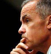 Arkivbild: Bank of England-chefen Mark Carney.  Frank Augstein / TT NYHETSBYRÅN/ NTB Scanpix