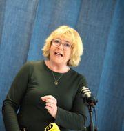 Irene Svenonius (M), finansregionråd i Region Stockholm. Pontus Lundahl/TT / TT NYHETSBYRÅN