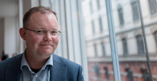 Henrik Ekengren Oscarsson. Björn Larsson Rosvall/TT / TT NYHETSBYRÅN