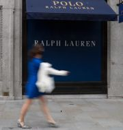 Ralph Lauren-butik i London. Arkivbild. Alastair Grant / TT NYHETSBYRÅN
