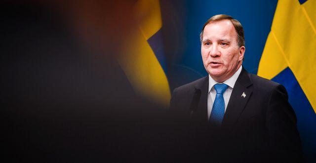 Statsminister Stefan Löfven  MAXIM THORE / BILDBYRÅN
