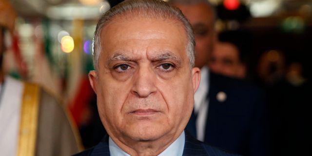 Iraks utrikesminister Mohammad Ali al-Hakim.  Hussein Malla / TT NYHETSBYRÅN