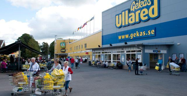 I Falkenberg rör många larm Gekås i Ullared. Bertil Ericson / TT / TT NYHETSBYRÅN