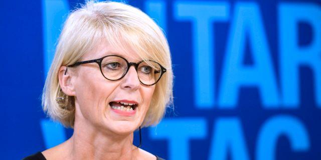 Moderaternas ekonomiskpolitiska talesperson Elisabeth Svantesson.  Fredrik Sandberg/TT / TT NYHETSBYRÅN