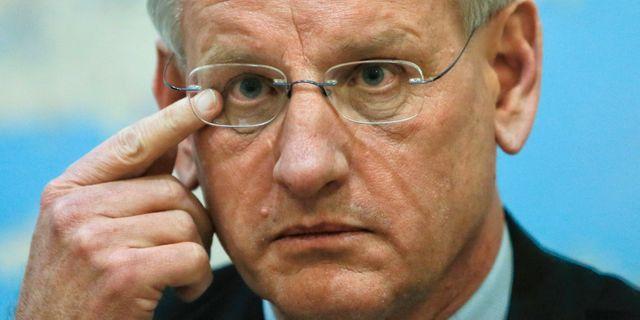 Carl Bildt. Arkivbild. Efrem Lukatsky / TT / NTB Scanpix