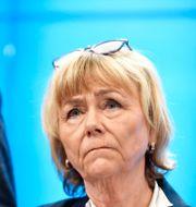 Moderaternas försvarspolitiska talesperson Beatrice Ask.  Naina Helèn Jåma/TT / TT NYHETSBYRÅN