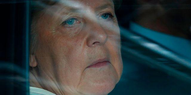 Tysklands Angela Merkel.  FRANCOIS LENOIR / POOL